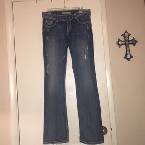 Buckle jeans!